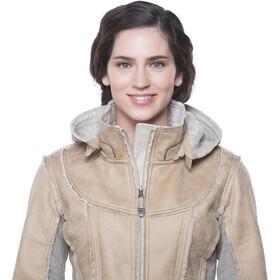 Kühl Dani Sherpa Trench Femme, almond